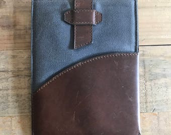 SECONDS - The Sleeve for iPad Mini 1/2/3 - Charcoal with Whiskey