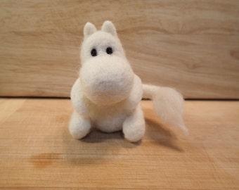 Moomin Handmade Needle Felted Figure