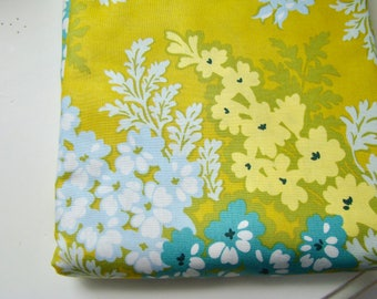 Heather Bailey Nicey Jane Picnic Bouquet Antique Gold HB-18 Fabric OOP Half Yard Very Hard to Find Rare