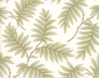Poetry - Fern in Porcelain by 3 Sisters for Moda Fabric