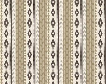aventure stripe crib sheet, tribal crib sheet, brown crib sheet