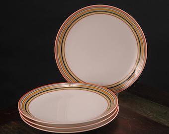 iittala Origo Orange Dinner Plates, Set of 4