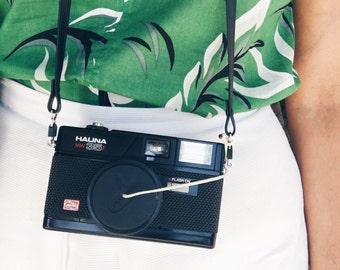 Vintage Halina 35mm MW 35 Film Camera w/ Case -  Working Film Tested