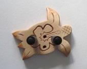 Ukulele wall mount hanger, hand carved honu/hibiscus, sea turtle