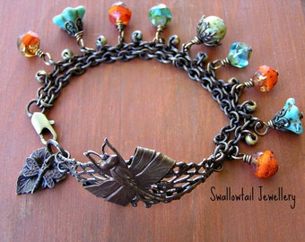 Summers End Dragonfly Bracelet