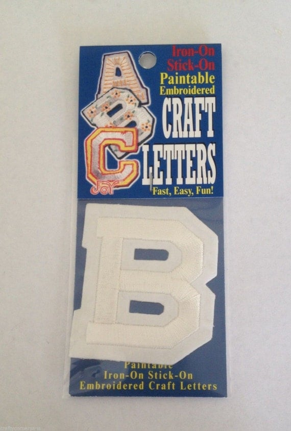 iron on monogram letters iron on letter b embroidered b craft letters letter 22599