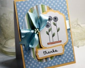 Custom Handmade Thank You Card