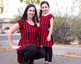 Deer Creek Tunic and Dress pattern Womens and Girls Bundle