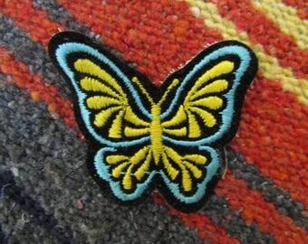 vintage butterfly patch