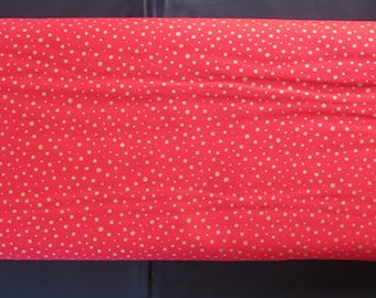 Howard Marcus Metallics Dots Red - Modafications Metallic Red 9884 14M Moda