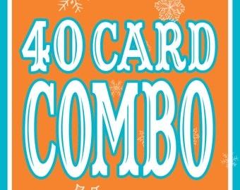 40 CARD COMBO!