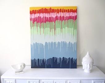 Rainbow Paint Drip