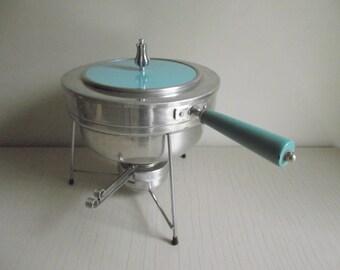 Buenilum Chafing Dish , Mid Century Warming Dish , Aluminum Chafing Dish , Buffet Warming Serving Set , Atomic Chafing Dish