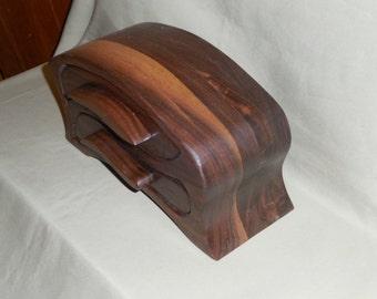 Walnut Jewelry/Keepsake Bandsaw Box