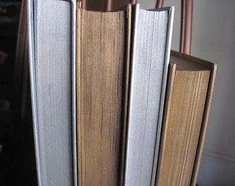 Gold and Silver Books, Silver Book Decor, Gold Wedding Trend, Silver and Gold Decor, Silver Painted Books, Wedding Book Decor, Wedding, Gold