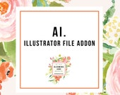 Addon a Ai. file to any logo