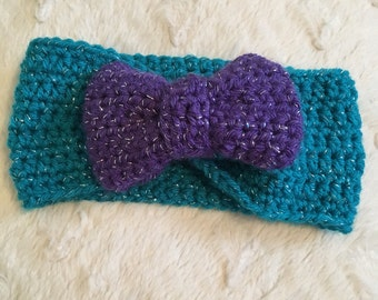 Crochet Baby Ear Warmer Headband