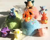 WOW! HUGE 5 oz Bath Candy with BiG POKEMON Bath Toy Inside! Fun Party Idea Birthday Toy Favor - Bigger Than The Rest - Safe for Little Kids!
