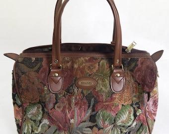 Original 1970s Large Vintage Shilton Tapestry Bag
