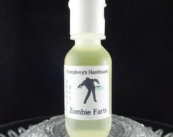 ZOMBIE FARTS Beard Oil, Cologne Oil, Small .5 oz Warm Vanilla Scented Beard Conditioner, Natural Beard Oil, Apricot & Avocado Oil