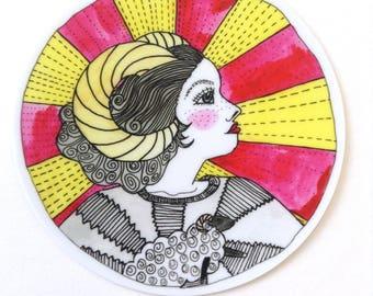 Sweater of the Ram - 3inch vinyl sticker