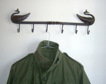 Vintage 80s Khaki Green Jacket . Mens Workwear Parka Safari Adventure Parka Coat Cargo Pockets Outerwear Utility Jacket. Size SMALL- Medium