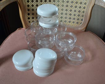 16 oz Pet Jars With Lids~Craft Supplies~Storage & Organization~Bath Jars~Body Scrub Jars