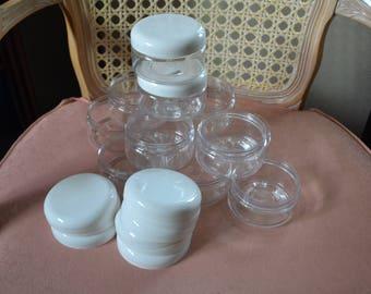 16 oz Pet Jars With Lids~Craft Supplies~Storage & Organization~Bath Jars~Body Scrub Jars