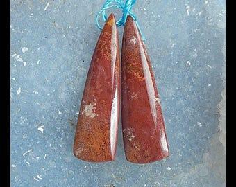 Ocean Jasper Earring Bead,41x11x5mm,7.3g