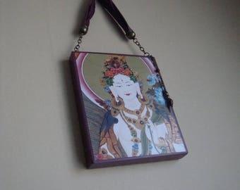 White Tara -- Large Folk Icon