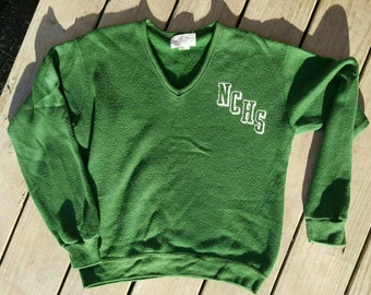 Vintage High School Sweater sz Md NCHS