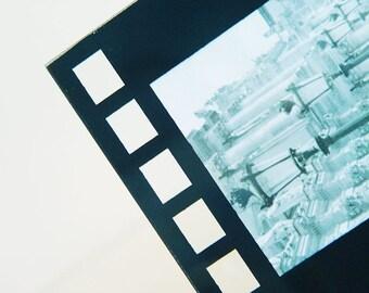 Black Metal Picture Frame- Craftsman-Deco-Modern
