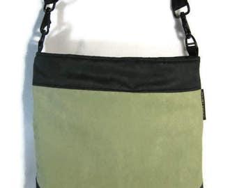 Crossbody Bag, Hobo Purse, Cross Body Shoulder Bag, Boho Sling Bag, Olive Green,  Army Green, Pantone 2017, RTS