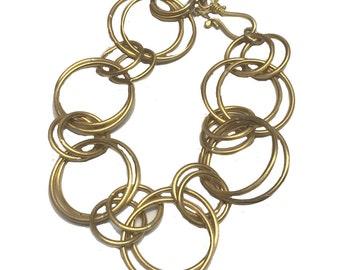 Jan's Signature 22k Gold Link Bracelet