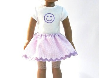 Wellie Wisher Outfit; Clothes for Wellie Wishers; Purple skirt outfit for Wellie Wishers