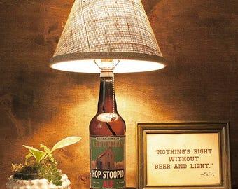 Lagunitas, Beer, Bottle Lamp, Gift, Craft Brew, Free US Shipping