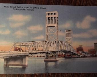 Main Street  Bridge  over St John's River Jacksonville Florida