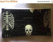 Skeletons Glow in the dark Pencil Case-Long zipper