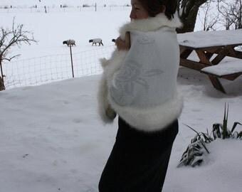 RawCo. Elegant Cloak One Size Fits Most ~ Wrap ~ Shawl