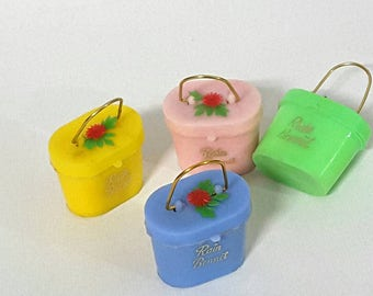 1960's little purse rain bonnets