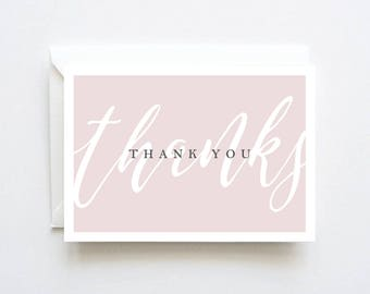 Bridal Shower Thank You Cards, Bridal Shower Thank You, Bridal Shower Thank You Notes, Pink Bridal Shower, Thank You Cards Bridal Shower