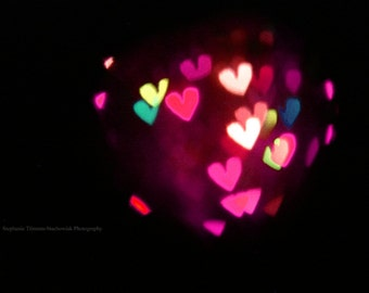 Hearts,Pink, Black, Heart, Red, Valentines Day, Green, Dark, Valentines Day Photography, Pink, Love, heart Bokeh
