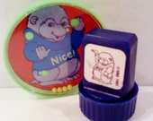 Shirt Tales Rubber Stamp and Puzzle Set