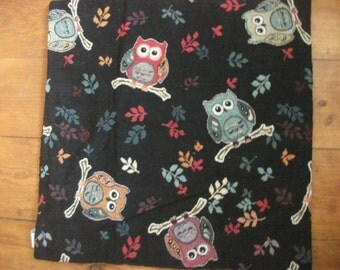 OWL PATTERN CUSHION cover