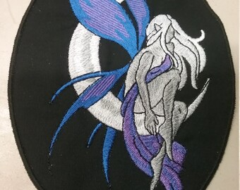 Fairy with Moon (Blue/Purple) Patch