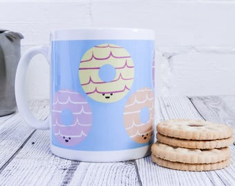 Party Ring - Party Rings - Biscuit mug - gift for biscuit lovers - biscuit illustration