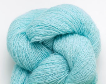 April Aqua Recycled Cashmere Lace Weight Yarn, CSH00254