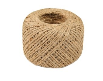 Natural Jute Twine-2mm-5 or 10 YDS.