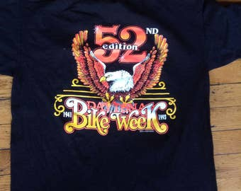 1993 Daytona Bike Week t shirt