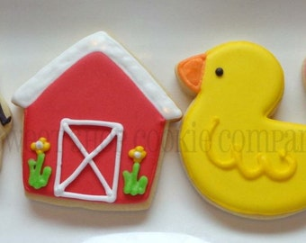 Farm Themed cookies 3 dozen
